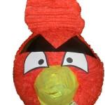 angry birds piñata roja