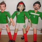 piña futbolistas