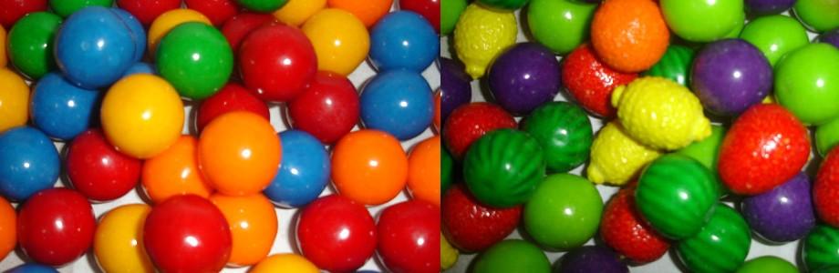 Dulces a granel para barras de dulces